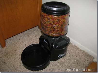 automatic dog feeder instructions